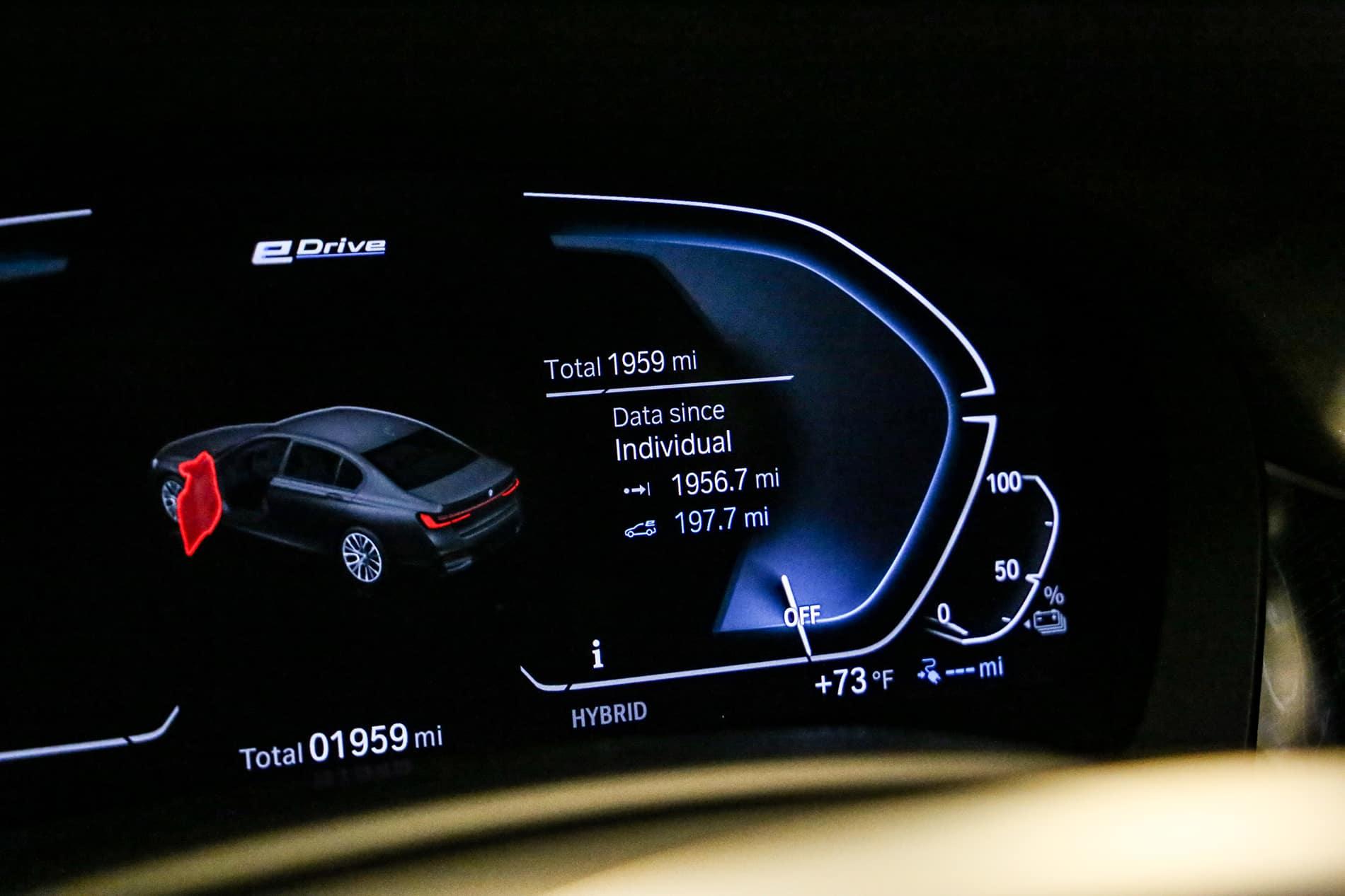 BMW Light Dashboard Mahattan NY