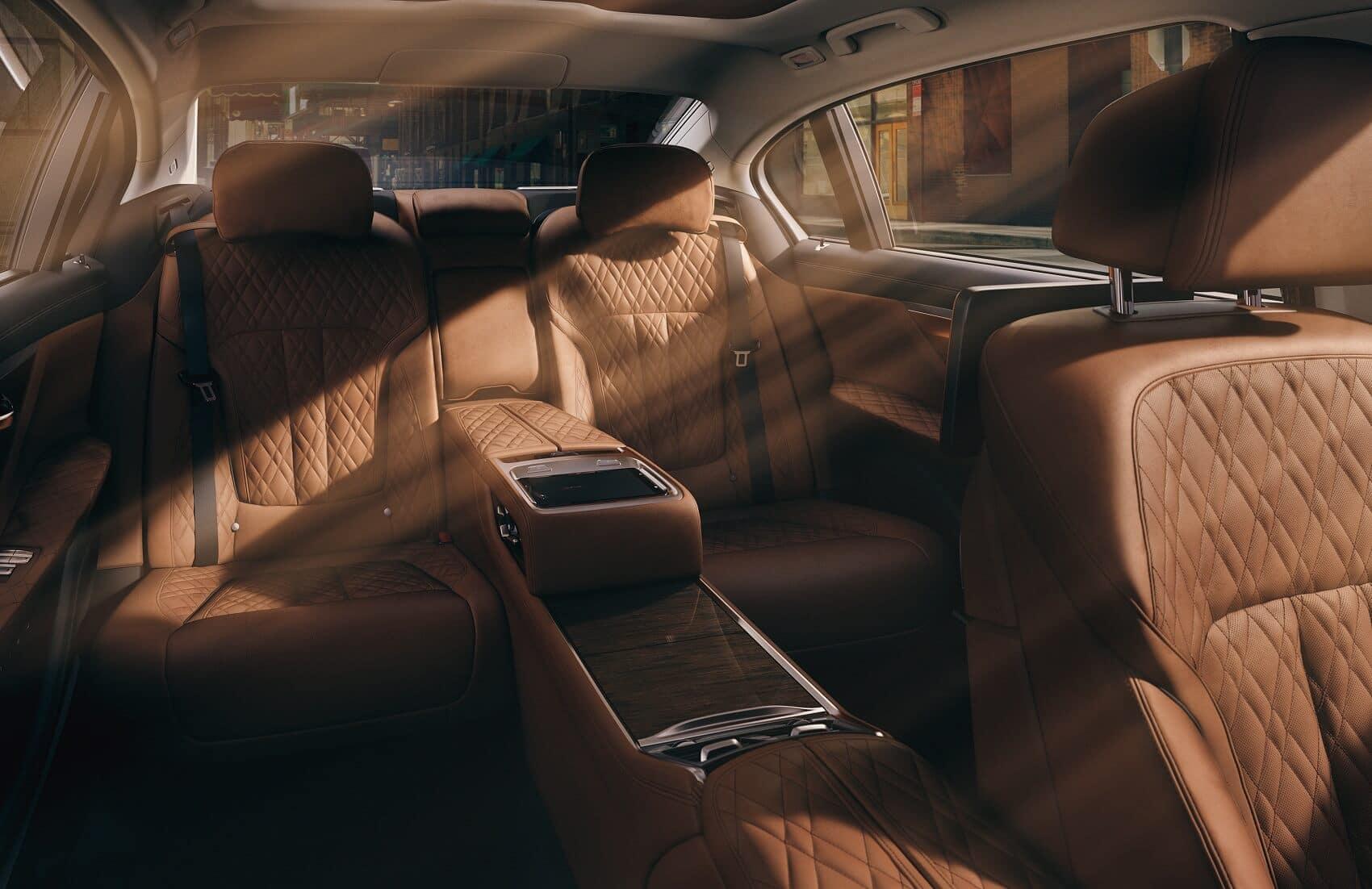 BMW 7 Series Back Seats Manhattan NY