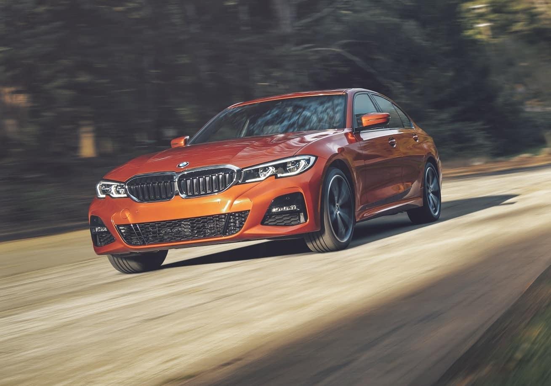 BMW 3 Series Orange
