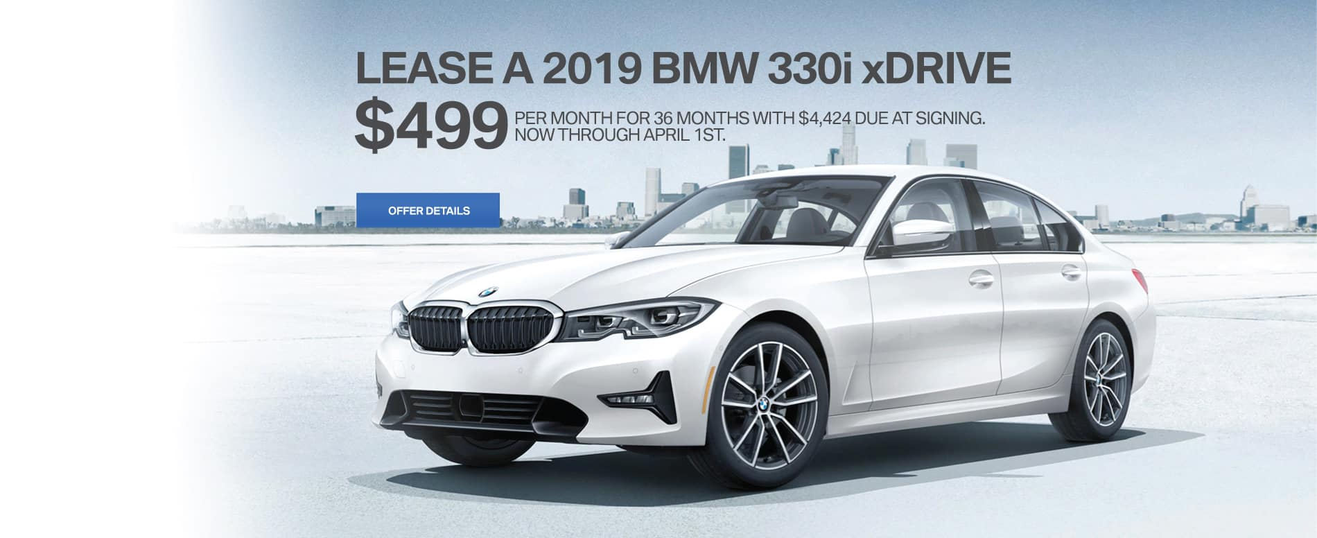 330i march lease