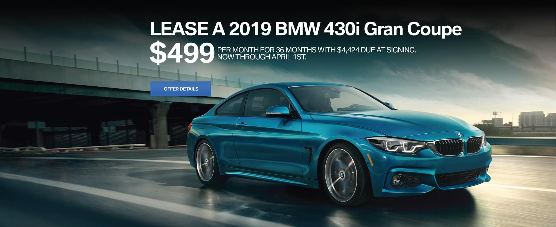 430i Gran Coupe Lease offer