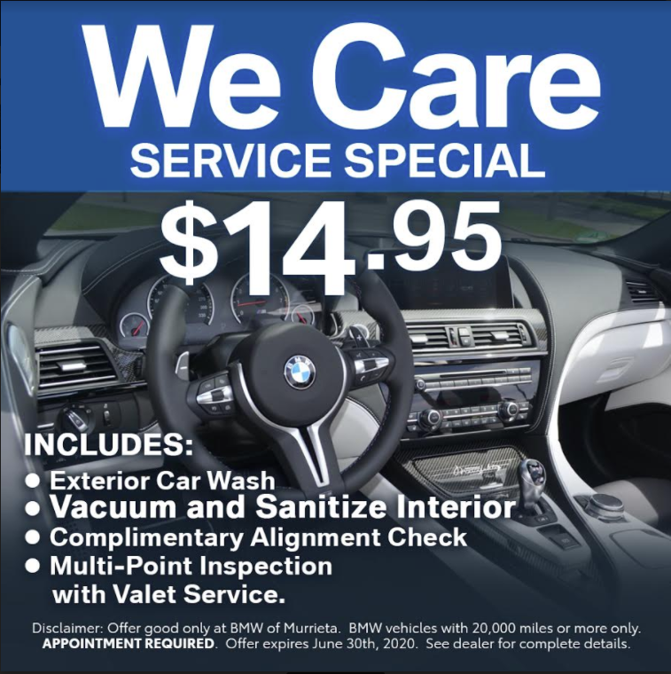 we care service special $14.95