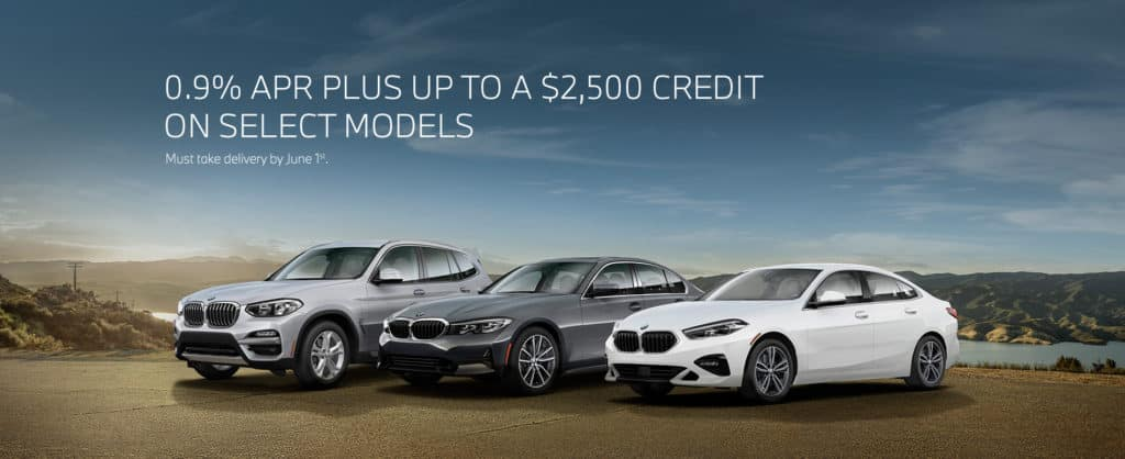0.9% APR PLUS UP TO $2,500 CREDIT ON SELECT MODELS