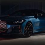 2021 bmw 4 series blue exterior