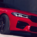 2021 bmw m5 red exterior