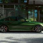 2021 bmw 530e green exterior
