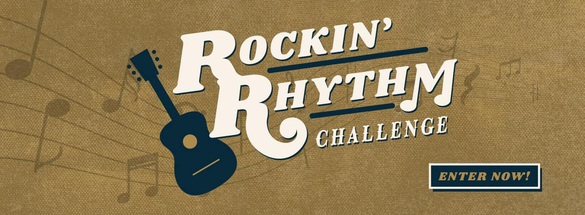 Make your talent known by entering the Rockin' Rhythm Challenge today in Madison TN