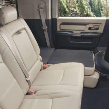 2020 Ram 2500 Back Seat