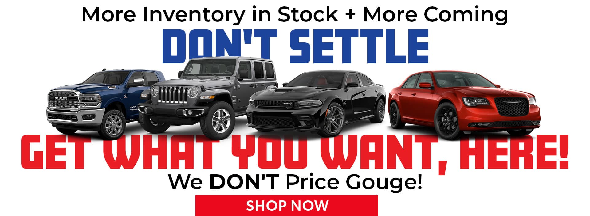 Don't Settle, Get What You Want Here in Bonham, TX