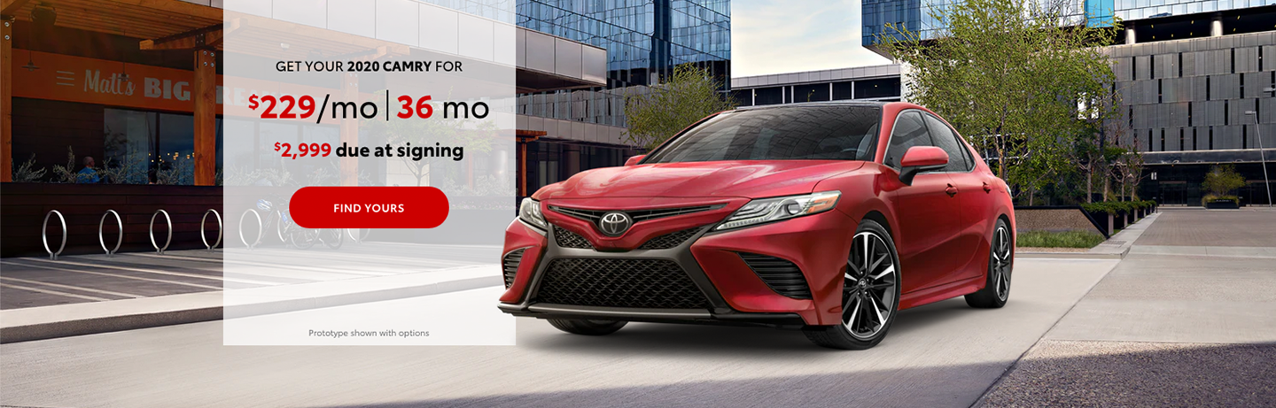 Toyota Camry Lease Deal in Yakima