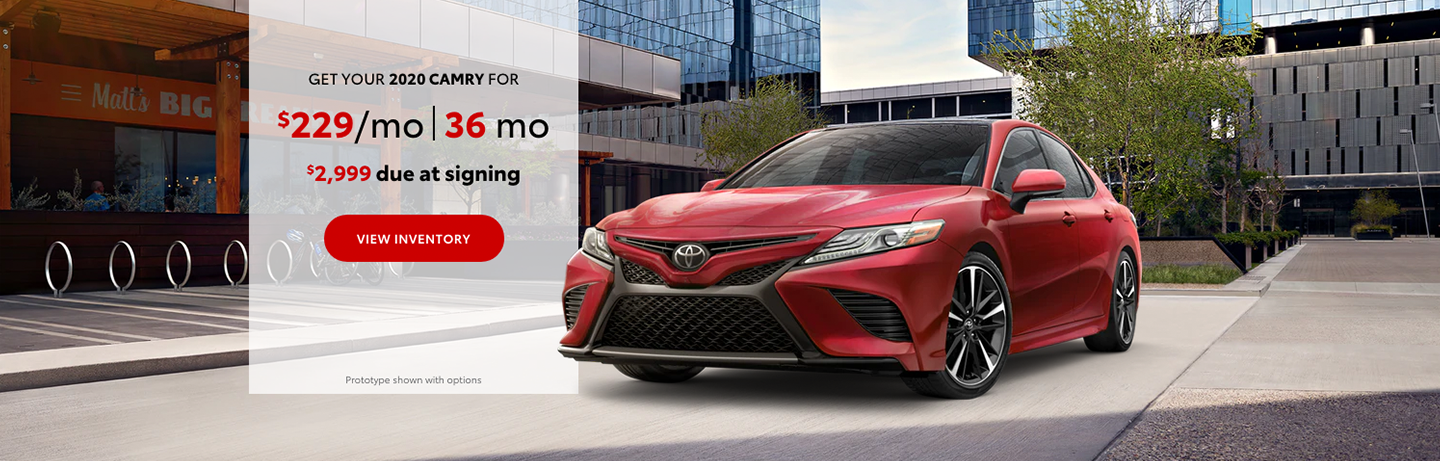 2020 Toyota Camry Lease