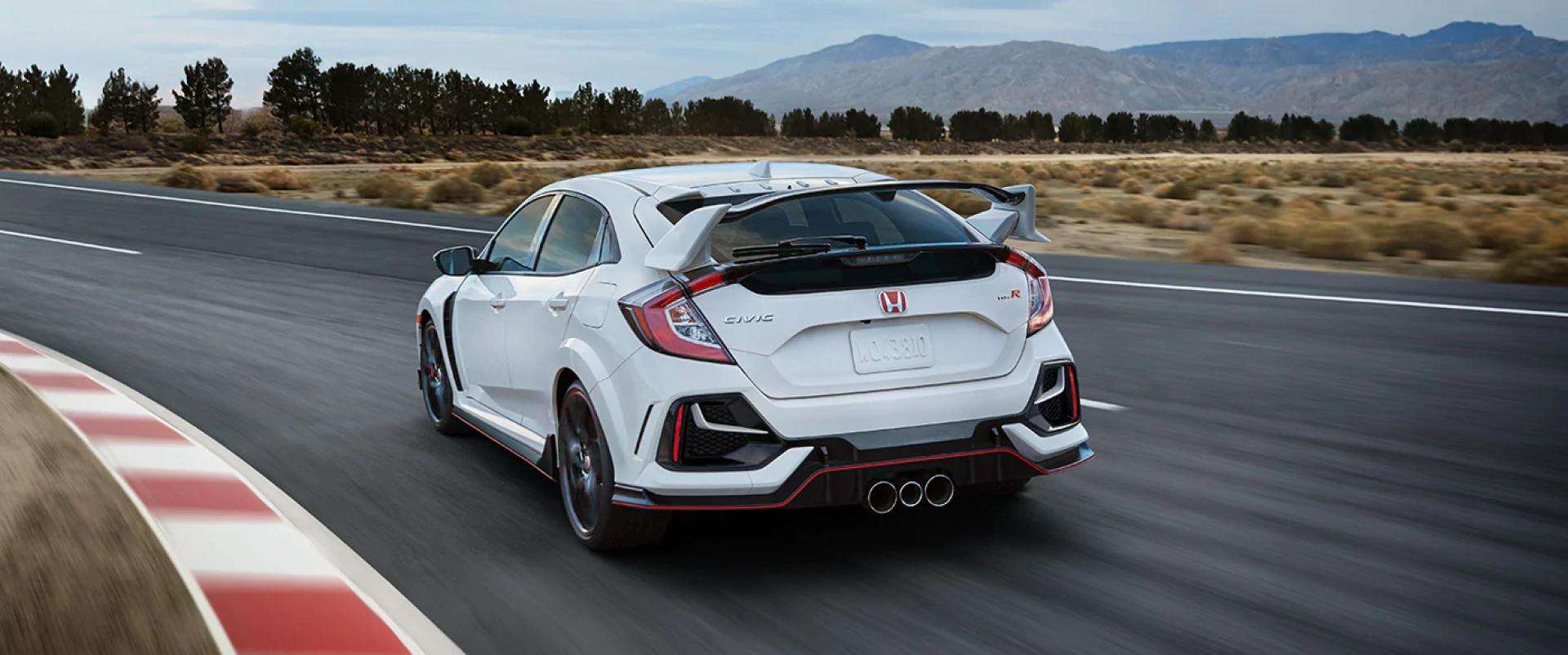 Honda_Civic_Type_R_Championship_White_Driving_Rear_View