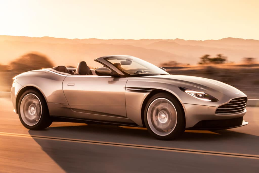 2019 Aston Martin DB11 Volante Leases Starting At $1989/mo.*