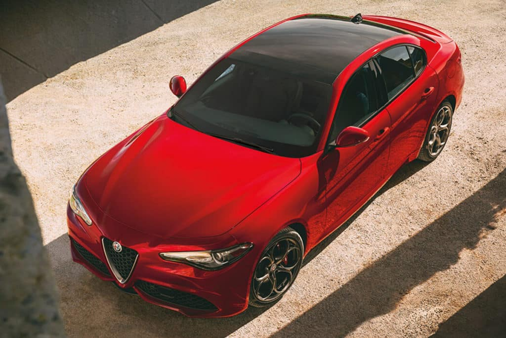 2018 Alfa Romeo Giulia Leases Starting At $349/mo.*