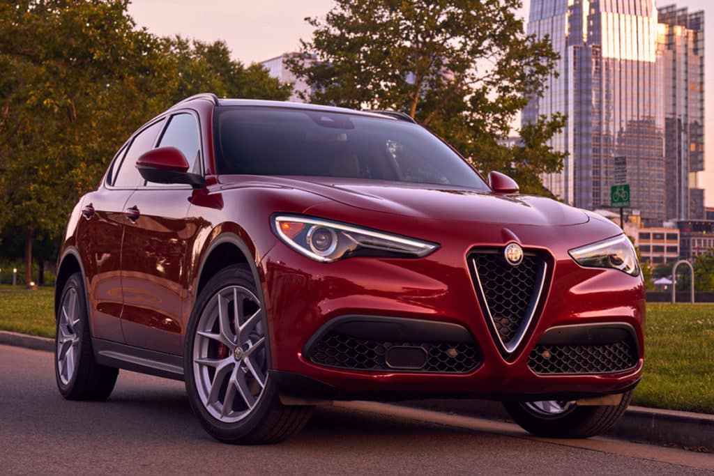 2018 Alfa Romeo Stelvio Leases Starting At $349/mo.*