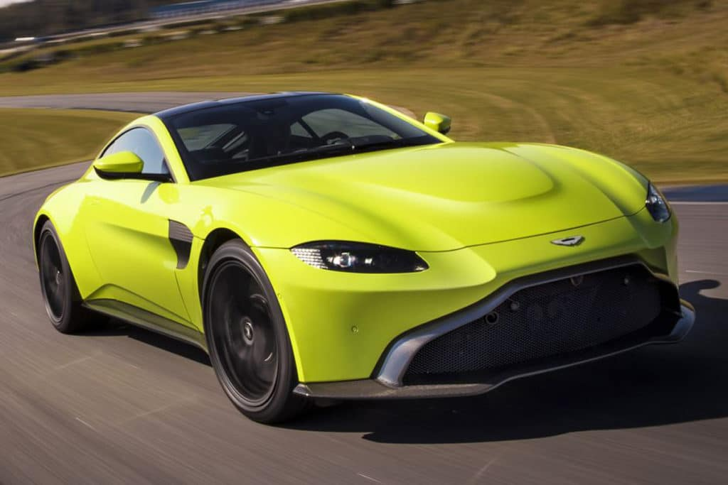 2019 Aston Martin Vantage Leases Starting At $1799/mo.*