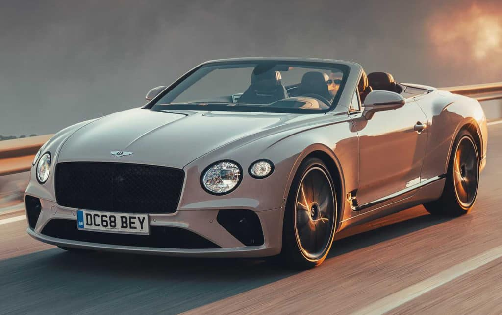 2020 Bentley Continental GTC V8 Leases Starting At $3,967/mo.*
