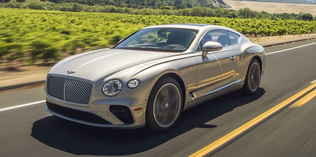 2020 Bentley Continental GT V8 Leases Starting At $2,480/mo.*