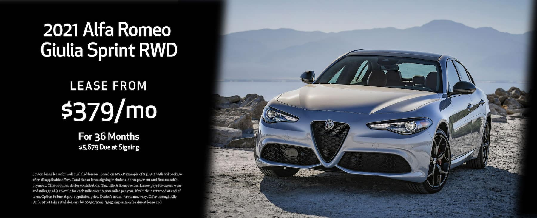 2021 Alfa Romeo Giulia Lease