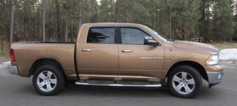 Beige 2012 Ram 1500