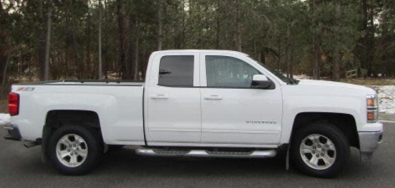 2015 White Chevrolet Silverado 1500