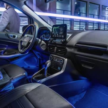 2019 Ford EcoSport Ambient Lighting