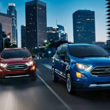 2019 Ford EcoSport Pair