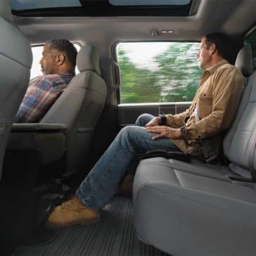 2019 Ford F-150 Interior Rear Seating Passenger Space
