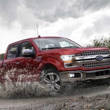 2019 Ford F-150 Off-Roading