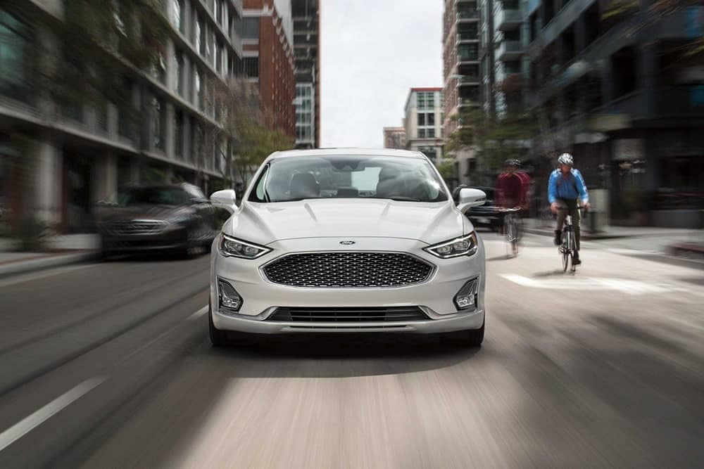 2019 Ford Fusion Grill