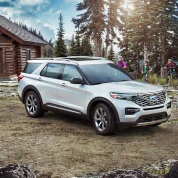 2020 Ford Explorer At Cabin