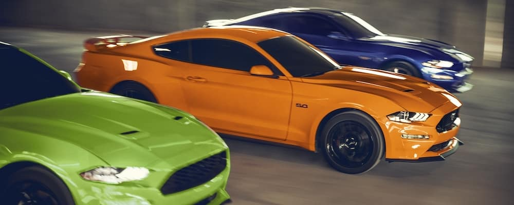 2020 Ford Mustang Models Racing