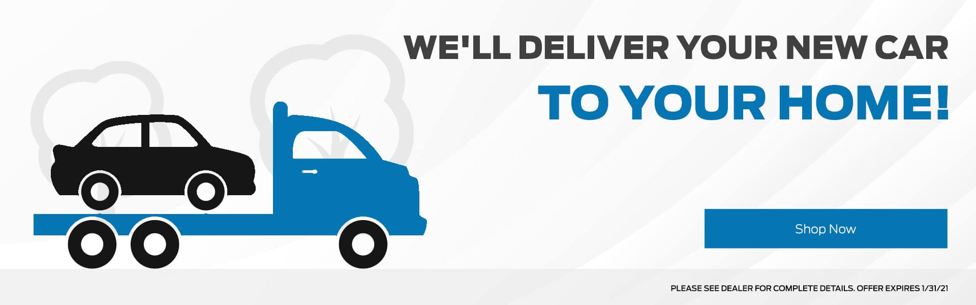 We'll deliver your New Car