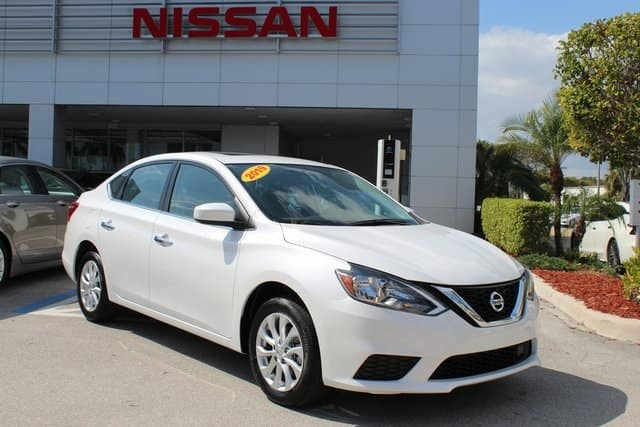 2019 Nissan Sentra SV $16,495