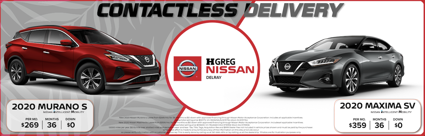 Nissan Murano and Maxima June Offer
