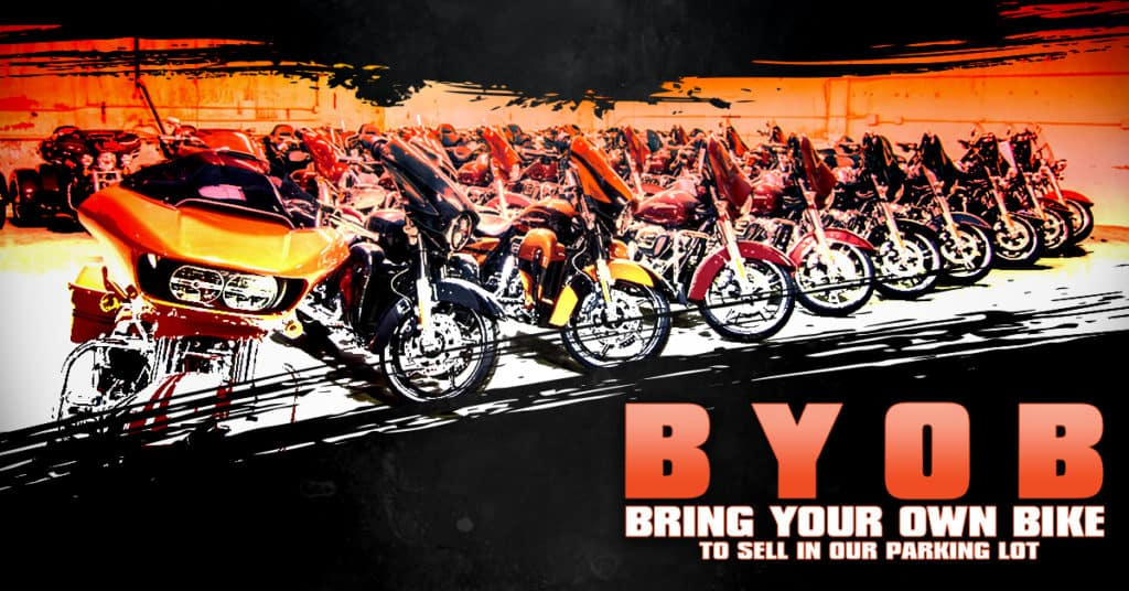 BYOB: Bring Your Own Bike (to sell!) | Desert Wind Harley