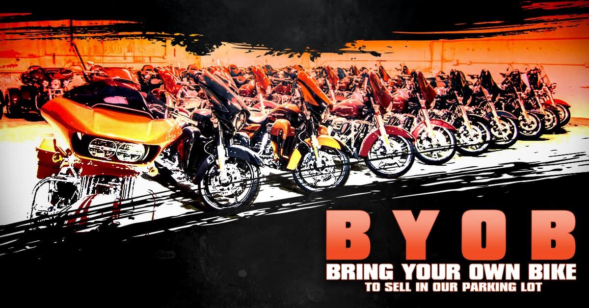 BYOB: Bring Your Own Bike (to sell!)   Desert Wind Harley