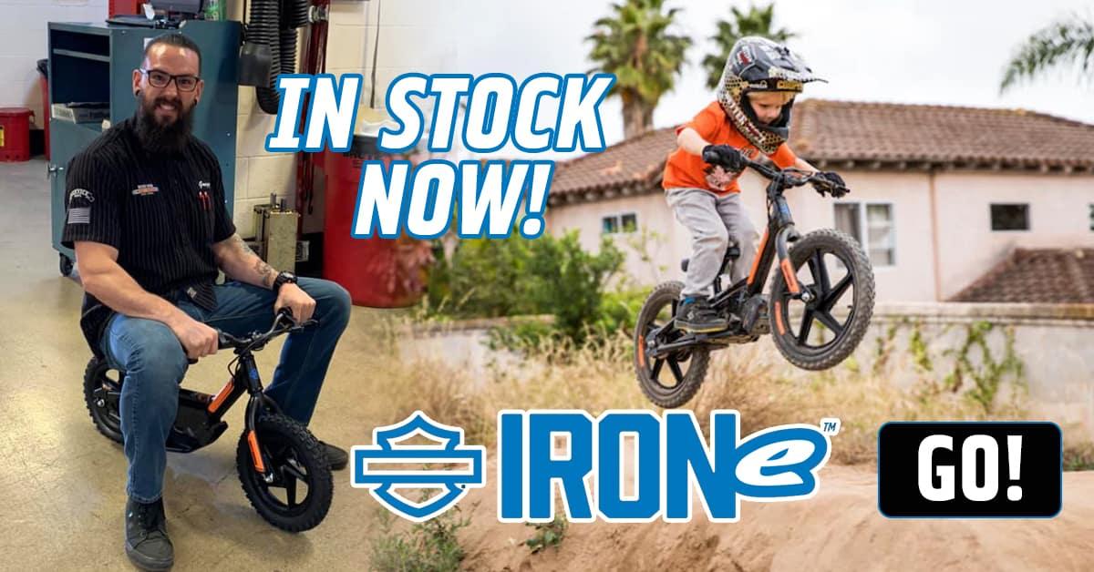 IRONE Electric Kids Bikes