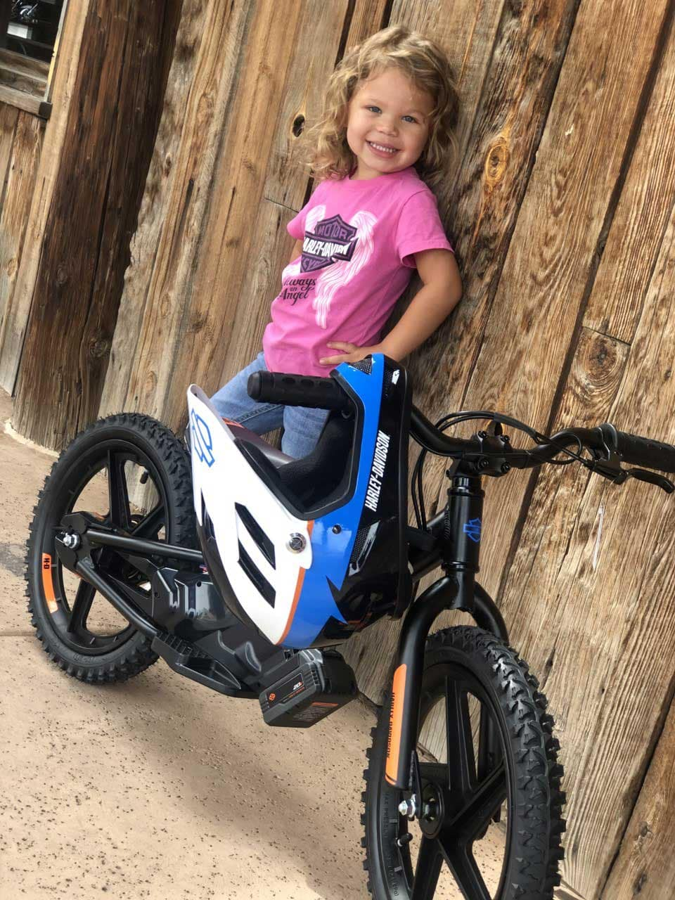 Harley Kids' IRONe Electric Motorcycle Demo Rides Mesa, Arizona