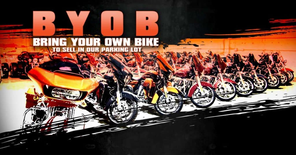 BYOB - Bring Your Own Bike to Sell