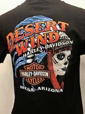 Desert Wind Harley T-Shirts