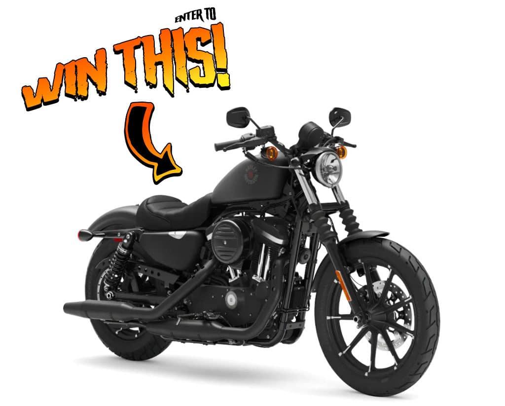 Enter to Win 2021 Iron 883