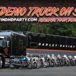 H-D Demo Truck On Site