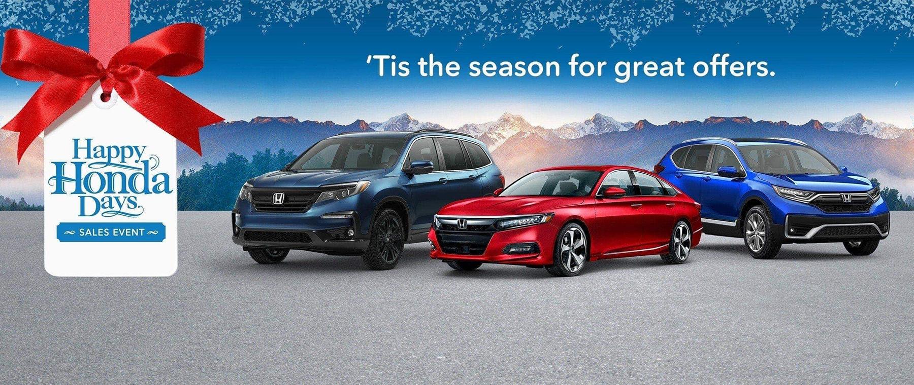 Happy Honda Days – 1800 x 760