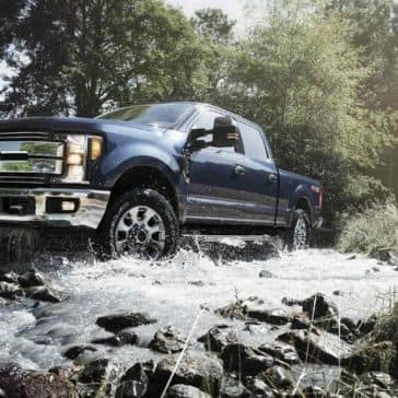 2018-Ford-F-250-on-Water