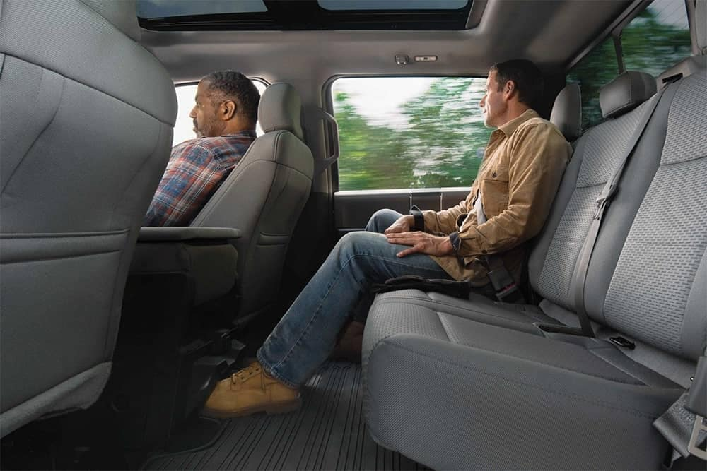 2019-Ford-F-150-Interior-Rear-Seating-Passenger-Space