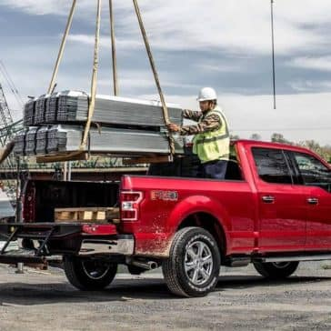 Machine-Loading-Heavy-Objects-in-Bed-of-2019-Ford-F-150