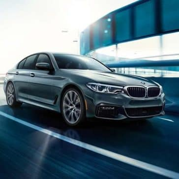 2019 BMW 5 Series Driving