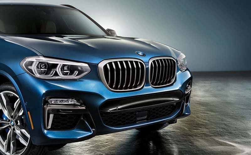 2019 BMW X3 Blue