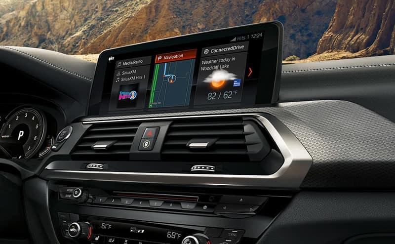 2019 BMW X3 Touchscreen